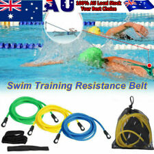 4M Swim Trainer Belt Swimming Resistance Tether Leash Pool Training Aid Harness