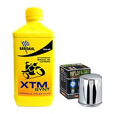Kit tagliando Bardahl XTM 10W40 filtro olio Harley Davidson Sportster - Softail