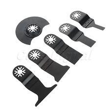 6pcs HCS E-Cut Standard Saw Blade Multimaster Power Cutting Multi Tool 10-65mm