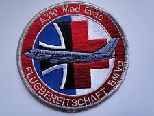 Waffensystemaufnäher A310 Med Evac Flugbereitschaft BMVG ca 10 cm