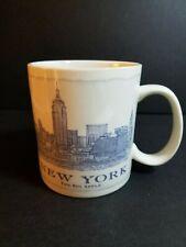 Starbucks Coffee Cup Mug New York Architecture Series 2010