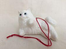 Loza Electrica Pottery Persian Cat Lying Ornament -Hagen Renaker family company.