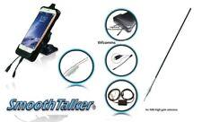 iPhone 6 7 8 Plus Car cradle +9db high gain ext antenna- iPhone Smoothtalker kit