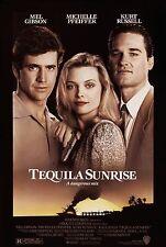 TEQUILA SUNRISE (1988) ORIGINAL MOVIE POSTER  -  ROLLED