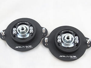 Camber Plates for Golf MK1 -black mat 3D caster camber