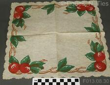 2 Vintage Franciscan Apple USA Cocktail Snack Lunch Buffet Paper Napkins (GG)