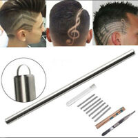 Multifunktions-Haar gravierte Stift-Edelstahl-Bart-Augenbrauen,die Rasiermess YR