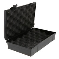 Large Black Plastic Boxes For Storage Jewelry Tools Case For Accessories