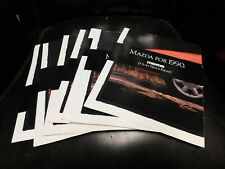 1990 Mazda Miata Poster Sales Brochure Literature