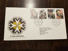 Royal Mail St John Ambulance First Day of Issue stamp Briefmarke 1987