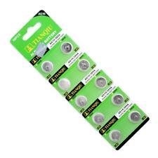 10pcs 1.55V LR1130 189 389 LR54 LR1130 KA54 GP89A AG10 Coin Button Cell Battery
