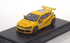 VW VOLKSWAGEN SCIROCCO III R-CUP #6 DUNLOP 2012 SPARK 1K8099300LAAX 1/43 GELB