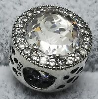 Pandora Radiant Hearts 791725CZ Sparkling Clear Charm S925 ALE