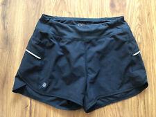 "Girl's ATHLETA Black Athletic Running 3"" Shorts Size L 12"
