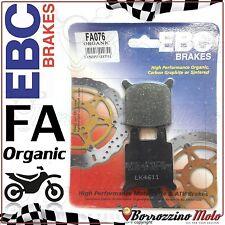 PASTIGLIE FRENO ANTERIORE ORGANICHE EBC FA076 ZUNDAPP KS 80 1980 -