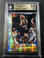 STEVE NASH 1996 BOWMAN'S BEST #R18 ATOMIC REFRACTOR ROOKIE RC BGS 9.5 SUNS NBA