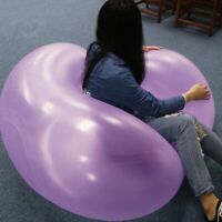 Oversized Inflatable Ball Toy Bubble Beach Ball Water Party Balloon Color Random