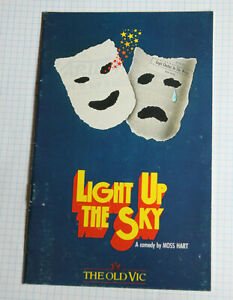 LIGHT UP THE SKY 1985 THE OLD VIC Theatre Programme KATE O'MARA
