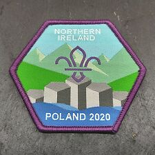 EuroJam 2020 Northern Ireland, United Kingdom Scout Badge - Limited Production