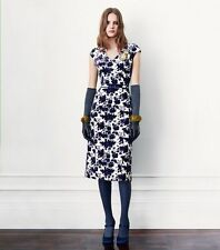 Tory Burch Dayton Dress Floral Velvet Sheath 2 XS RUNWAY