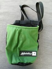 Metolius Black/Green Chalk Bag for Rock Climbing