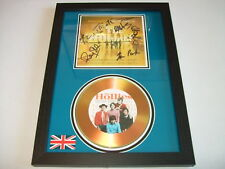 the hollies SIGNED  GOLD CD  DISC