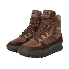 VINTAGE Adidas Trekking Stiefel Boots Gr 40 6.5 Made in Yugoslavia Braun Brown
