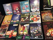south park complete dvd collection 1-12 Season Lot & Series 14