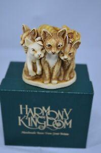 HARMONY KINGDOM FUR BALL - CATS (8)
