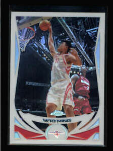 YAO MING 2004/05 TOPPS CHROME #11 REFRACTOR (VERY POPULAR PARALLEL SET) N7331