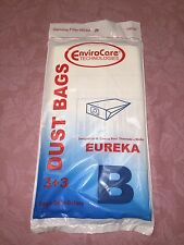 Eureka Canister Style B Bags, 3 pack + 3 Filters