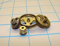 """CRC 64064 """"Gold Standard"""" Aluminum Machined 64 Pitch Pinion Gear, (64 Tooth)"""