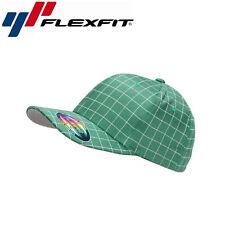 Flexfit Squareline Baseball Cap L/XL Grün Weiß