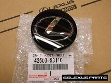 Lexus OEM Genuine F Sport BLACK CENTER CAP (x1) 42603-53110