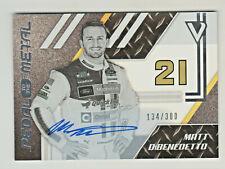 2020 Chronicles Racing Victory Lane AUTO #29 MATT DiBENEDETTO 134/300 NASCAR