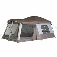 Wenzel 36424 Camping Outdoor Weather Repellent Easy Setup 8 Person Klondike Tent