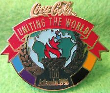Coca-Cola Uniting the World Atlanta 1996 Olympic Collectible Sponsor Pin