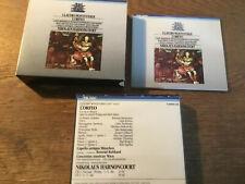Monteverdi - L'Orfeo  [2 CD Box] Teldec West Germany Harnoncourt WIEN