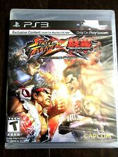 Street Fighter X Tekken Sony PlayStation 3 PS3 Factory Sealed Black Label