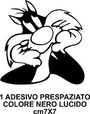 GATTO SILVESTRO ADESIVO TUNING AUTO CAMPER  CARROZZERIA