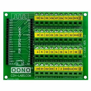 Screw Terminal Block Breakout Module Board for ESP32-DevKitC