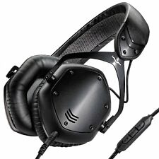 V-Moda Crossfade LP2 Matt Black - Professional Studio Monitor & DJ Headphones