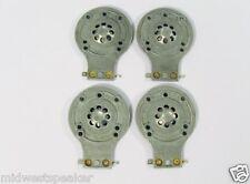 JBL 2412 2412H-1 Metall Membran für JRX112 JRX115 JRX125 TR125 TR126 TR225 4 Pack