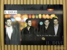 IL DIVO Siempre Promo Poster [20x30][2006] Rare Portrait Official Orig Hong Kong