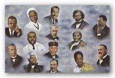 AFRICAN AMERICAN ART 14 Great Leaders Hulis Mavruk