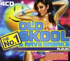 VARIOUS ARTISTS - THE NO. 1 OLD SKOOL AND RAVE BREAKS ALBUM NEW CD