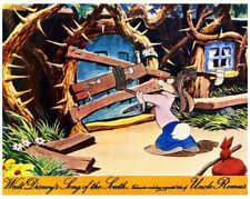 SONG OF THE SOUTH British 8x10 color still BRER RABBIT -- L013