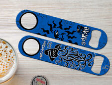 Zodiac Aquarius Birth Sign Personalized Bartender Bar Blade Speed Bottle Openers