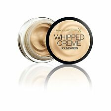 Max Factor Whipped Creme Foundation 45 Warm Almond