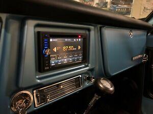 69-72 Chevrolet-Blazer, K5 Truck & GMC-Jimmy, Suburban Double DIN Stereo Bezel
